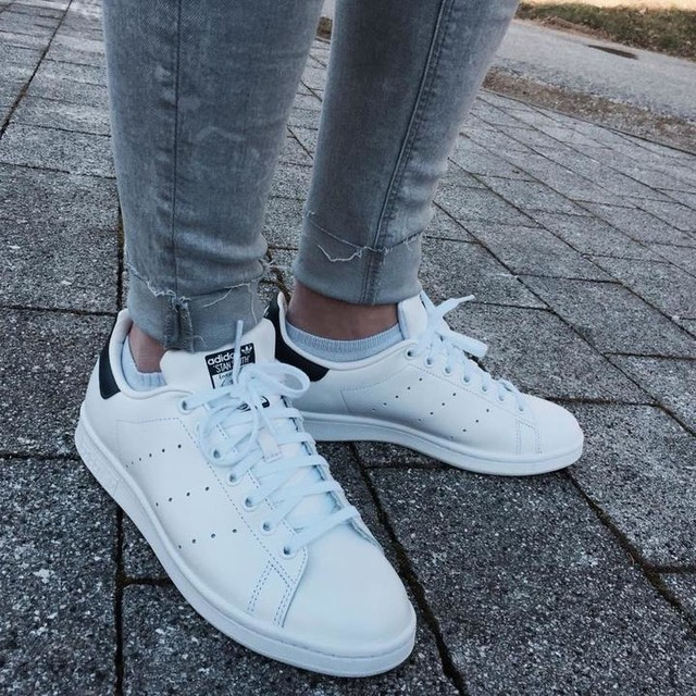 Image result for adidas Performance Stan Smith J Tennis Shoe