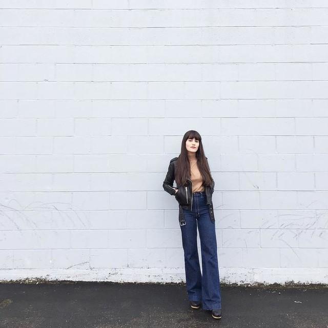 Lana Kay - Balfern Leather Biker Jacket