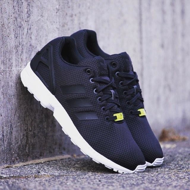 Adidas Shoes Zx Flux Black And White
