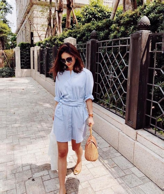 Jennifer Wei - Vestido camisero Camille