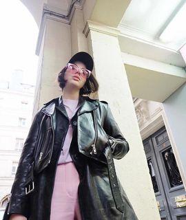 Barbara Malewicz - Balfern Leather Biker Jacket