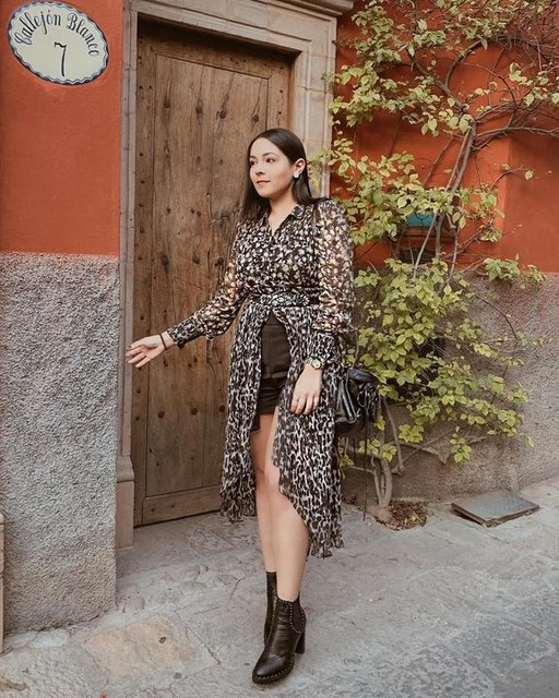 robbygonzalezg - Chemise Keri Leopard