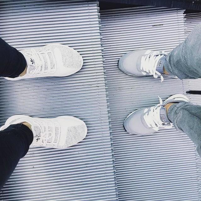 Team Adidas with bae ❤ #adidas #adidasoriginal #3stripes #boost #iniki #tubular #shadow #teamadidas