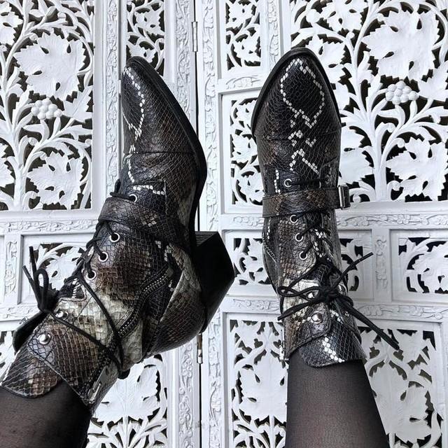 em.weinreb - Katy Snake Boot