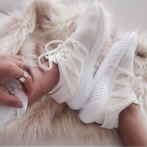 adidas Originals Tubular Viral neoprene and leather sneakers NET