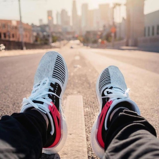 Take to the Streets [ 📷 @1stedit ] . . . . #OnFeetOnly #EQT #adidas #ultraboost #boostvibes #adidasoriginals #kicks #boostheaven #sneakernews #sneakers #peigkicks #sneakerhead #highsnobiety #hypebeast #snobshots  #sneakerfreaker #complexkicks #boostlife #instadaily #NYC
