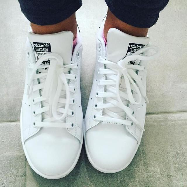Adidas Stan Smith White Black Gold