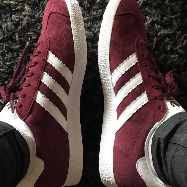 #sneakers #adidas #gazelle #gazelleadidas #bordeaux #birthday #14juillet