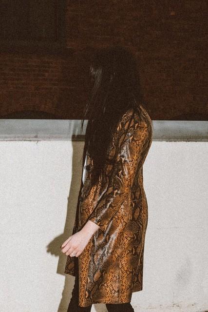 whocares.whatshewears - Oba Leather Mac