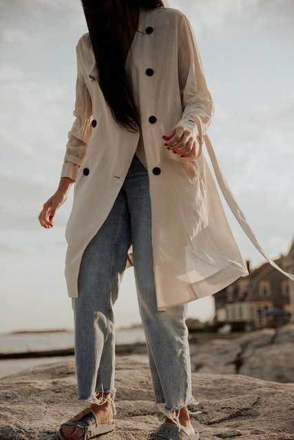 whocares.whatshewears - Bria Trench Coat