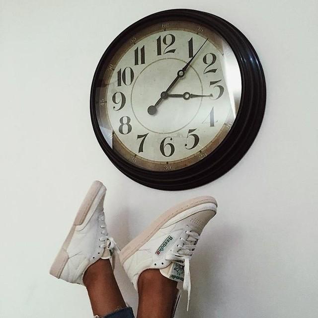 Back to past @reebokclassicfr  ClubC85 v i n t a g e 👟 #france #viewsfrance #hypebae #sneakers #sneakersnews #sneakersaddict #sneakerscommunity #girlsonmyfeet #sneakheart #sneakersgirl #reebok #reebokclassic #reebokclassicleather #clubc85  #clubc85vintage #baesementapproved #minimalmovement