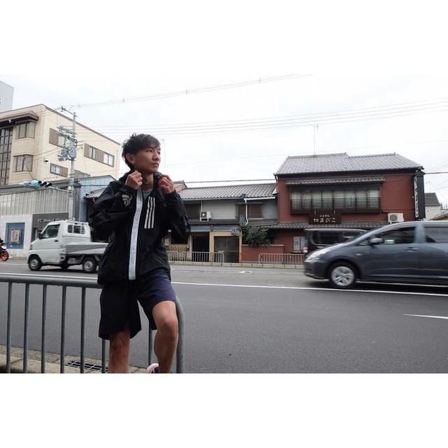 Wear W.N.D Jacket on a windy day #adidasIndonesia #adidasAthletics #createdwithadidas
