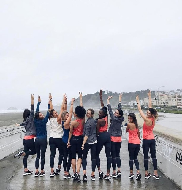 Never ever forget that you are part of the greatest #girlgang in the world. Together we can do anything. 👊🏽 #ultraboostx @adidasrunning