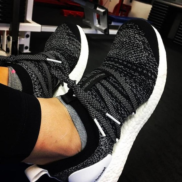 Wife getting in some workout time #adidas #stellamccartney #ultraboost #fitfam