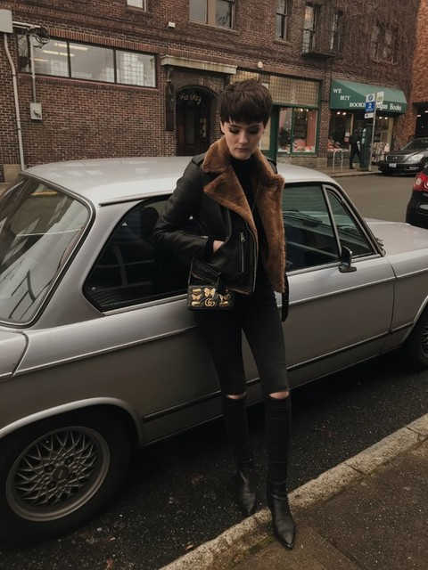 Julia Marie - Grace Slashed Skinny Jeans