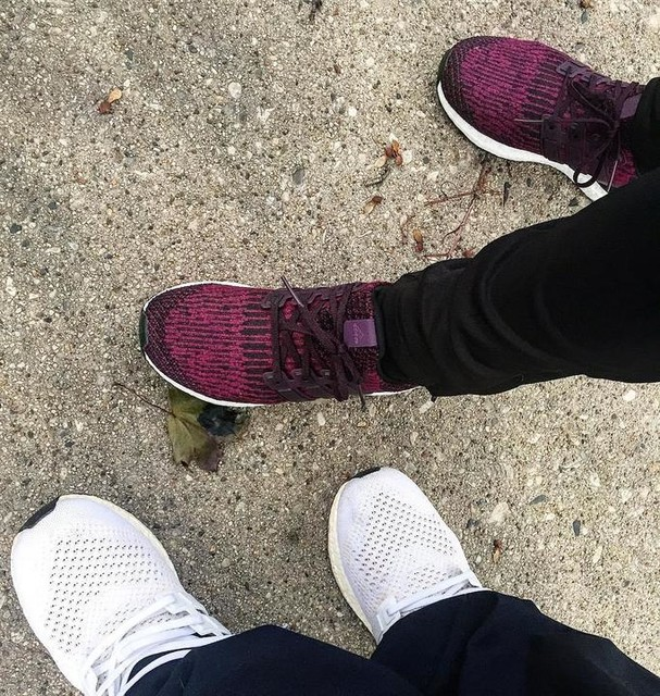 Me and Taina out here boosting! Boost is life. #adidas #ultraboost #3stripesstyle #3stripelife #clickskicks #trustedkicks #milwaukee #whatsonyourfeet