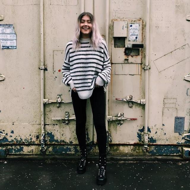 laura_oneill_ - Renne Stripe Sweater