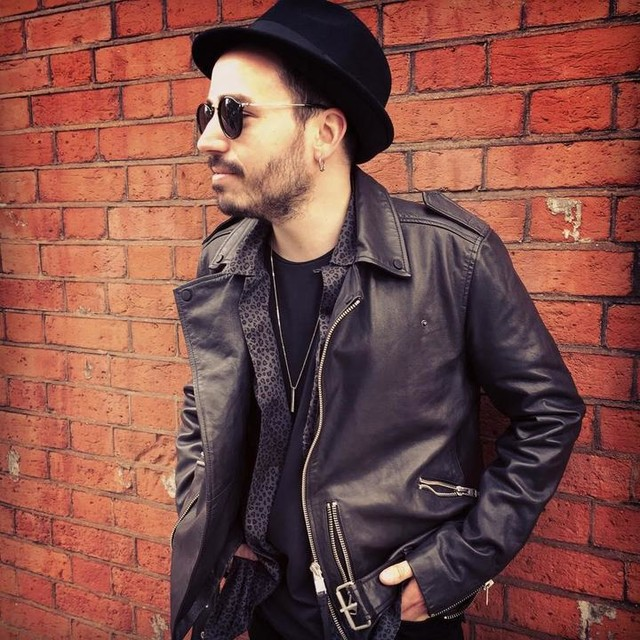 Dani d'Elboeuf - Bronson Leather Fedora Hat