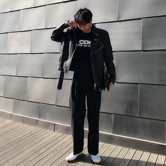 ydoy__ - Manor Leather Biker Jacket