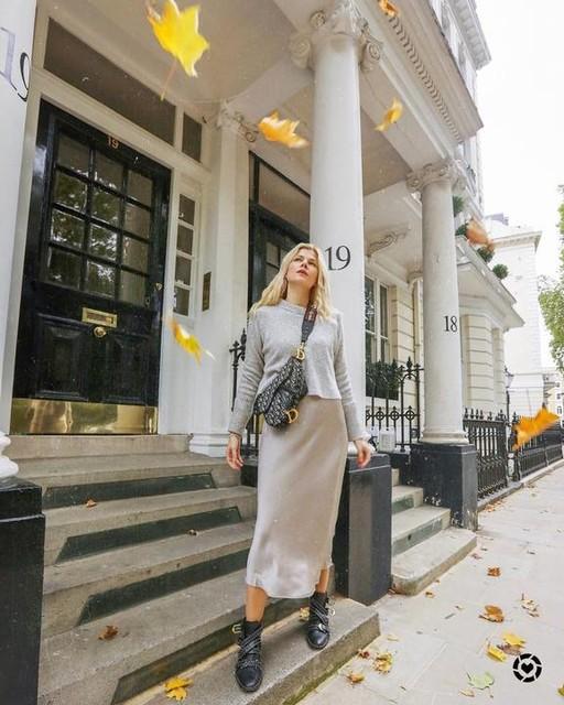 Eva McMahon - Vestido con Suéter Tierny