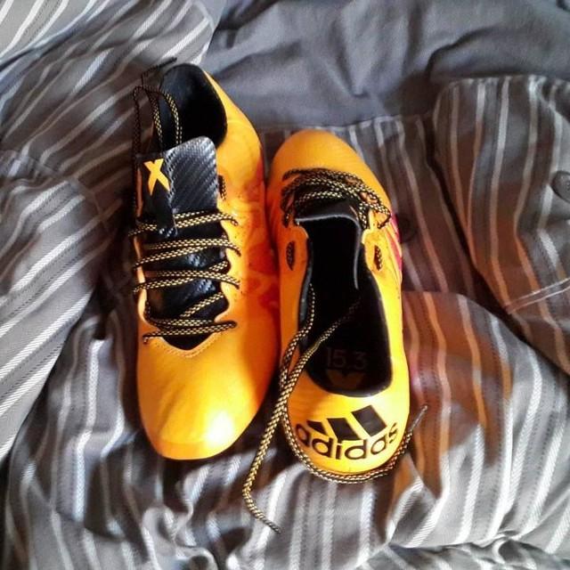 Got mah new boots! #Swag #Adidas #FootyForDays #X15.3