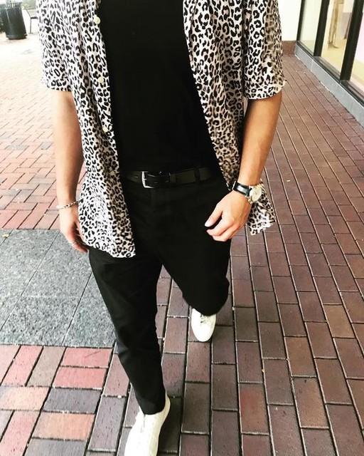 charles_acosta_ - Leopardtone Shirt