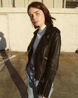 Reese Blutstein - Balfern Leather Biker Jacket