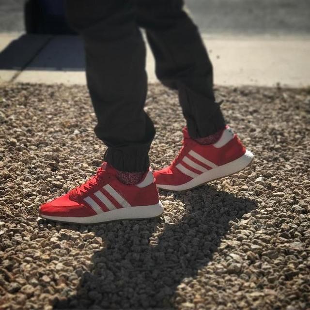 Iniki Red. #adidas #inikiboost #iniki #cloudwalking