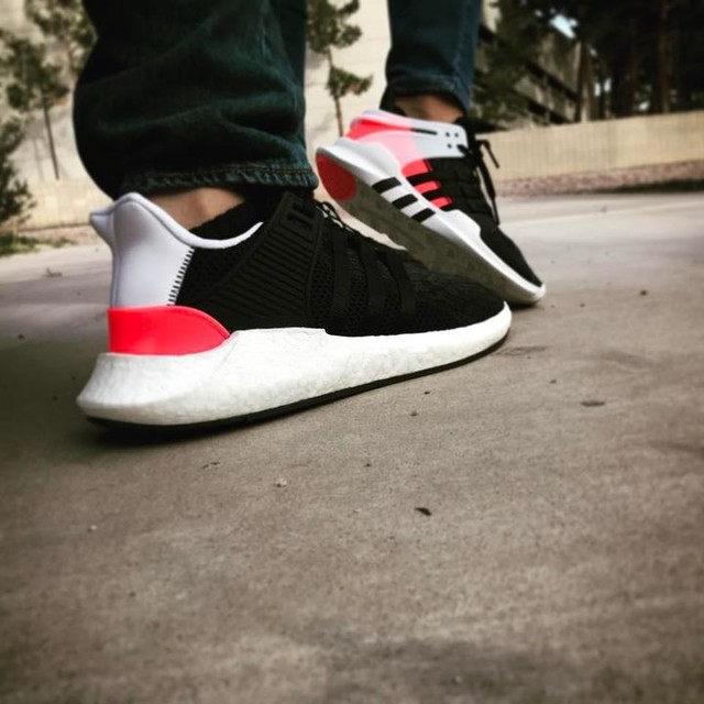 When you and bae are killing the sneaker #sneakers #adidas #adidaseqt #boost #sneakeroftheday