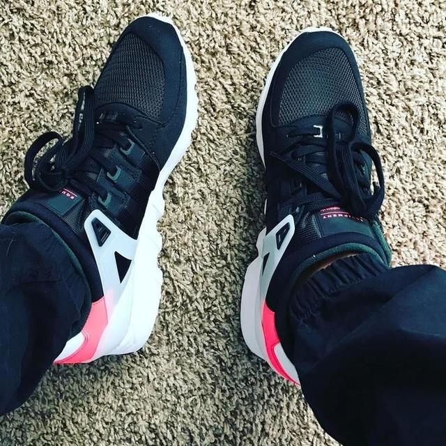 New 👟 Always a good thing. #adidas #eqt