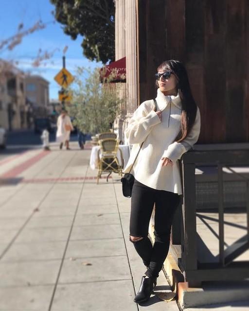 lill_canele - Suéter de Cuello Alto Ami