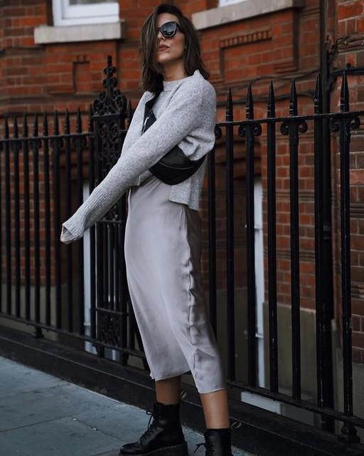 carlaestevezblog - Vestido con Suéter Tierny