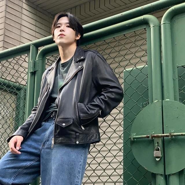 aa_hhc - Milo Leather Biker Jacket