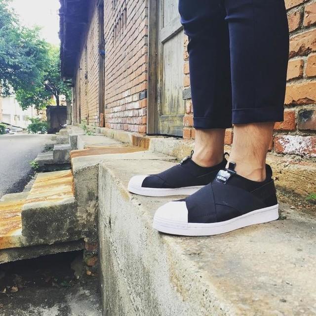 best (normal) adidas this year... Shoot taken of Shuai Sun. Kinda like #superstar #y3 #rickowens hybrid
