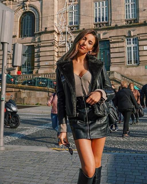 mariantoniapimentadacosta - Higgens Lux Biker Jacket