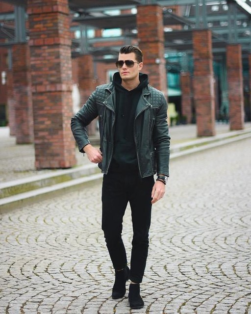 Dom Persy © ?? - Conroy Leather Biker Jacket