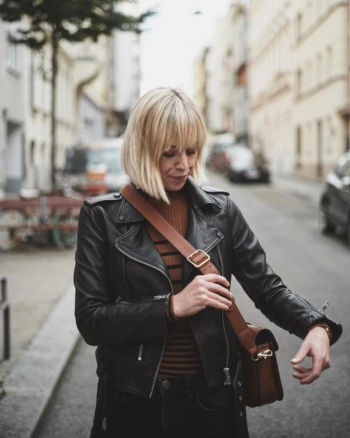 nadine_at - Balfern Leather Biker Jacket