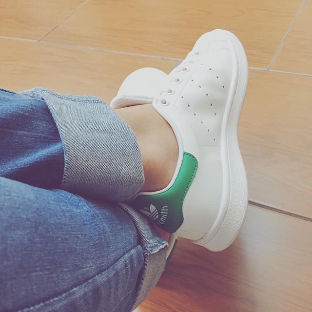 #VSCOcam I love my new #stan_smith #adidas #minimal_style #street_style #instapic