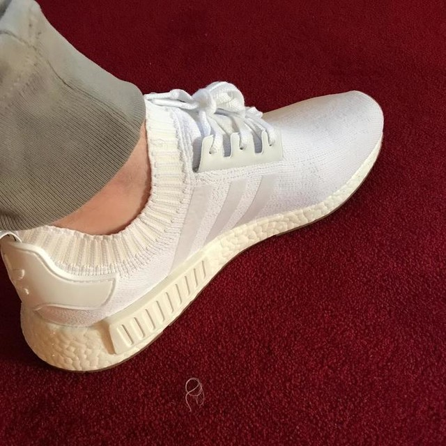 New Nmd's #adidas #white #trainers #nmd #primeknit