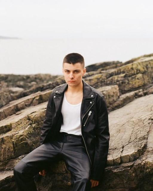 annastasiaalice - Rigg Leather Biker Jacket