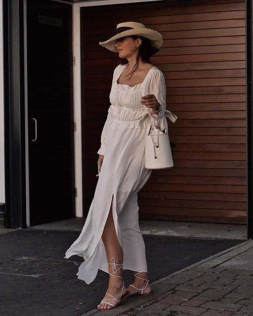 _evaciland - Kimi Silk Blend Dress