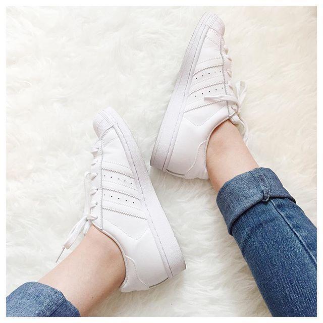 superstar adidas white