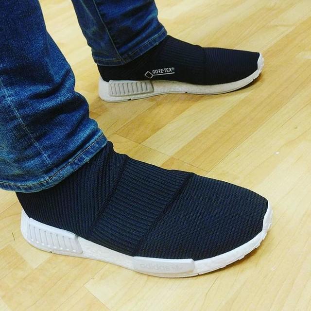 Feeling like a #ninja 🤔 #adidas #city #sock #citysock #cs1 #goretex #3stripes #nmd #boost #kicksonfire #kotd #wdywt