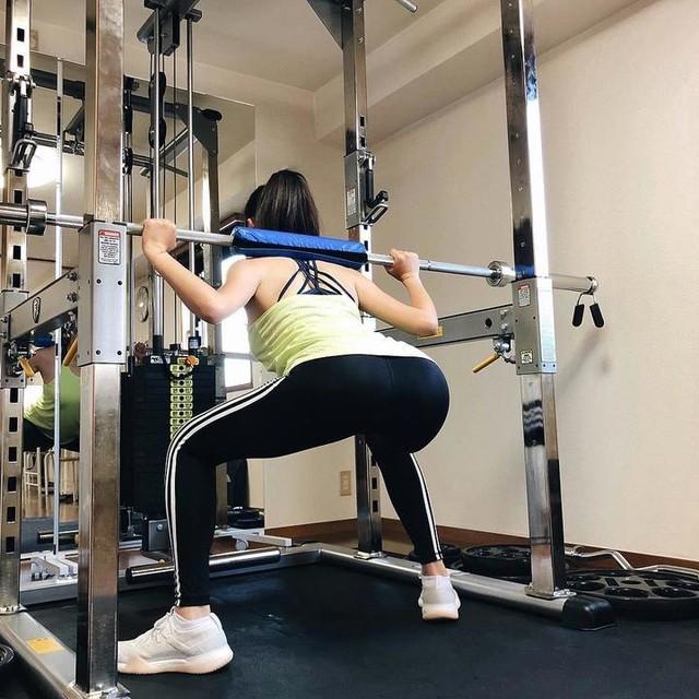 岩崎、ジム活始めました🏋️♀️ in @apple_gym_tokyo #applegym #climachill #ultraboostx #gym #training