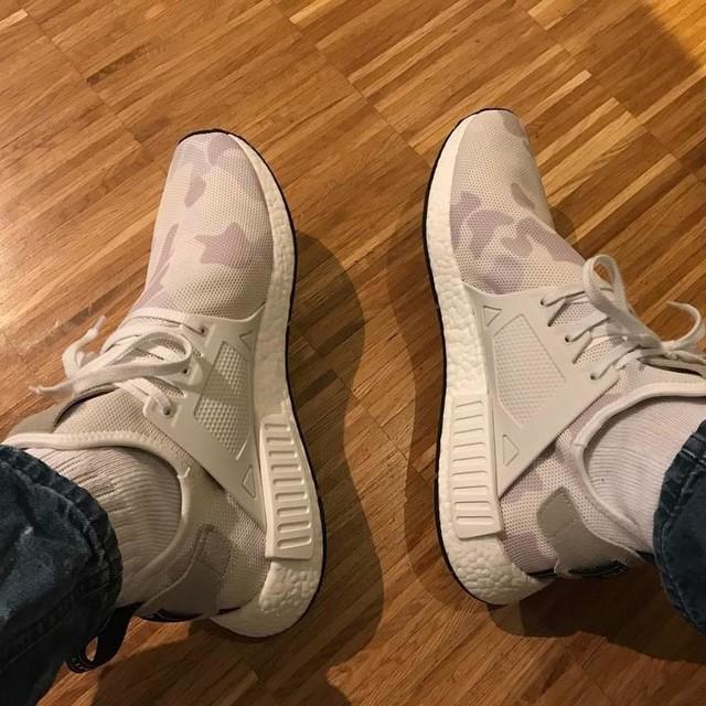 #Adidas #nmd #adidasnmd #adidasnmdxr1 #xr1 #camouflage #white #weiß #newshoes