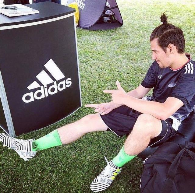 Testovačka novejch #nemeziz na výbornou 👍👍👍 víc takovejch akcí prosím. Díky moc @adidas.cz