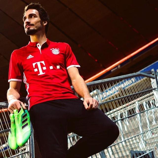 👟🔋⚽🔙 to Bundesliga! #ACE17 #X16 @adidasfootball #NeverFollow #FCBFCA #FCBayern