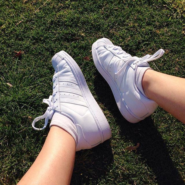 Adidas adidas Originals Superstar II White Trainers Asos