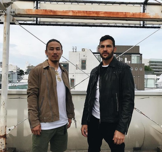 mame0712mame - Taro Leather Biker Jacket