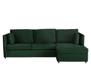Astounding Milner Sofa Bed With Memory Foam Mattress Regal Blue Velvet Uwap Interior Chair Design Uwaporg
